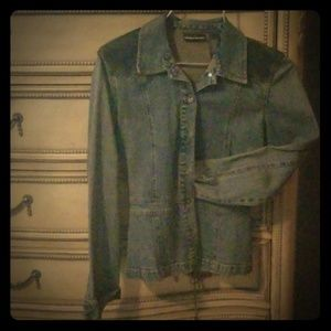 DKNY Jeans Jacket & Skirt